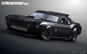69 Mustang Interceptor by RKGrafixx