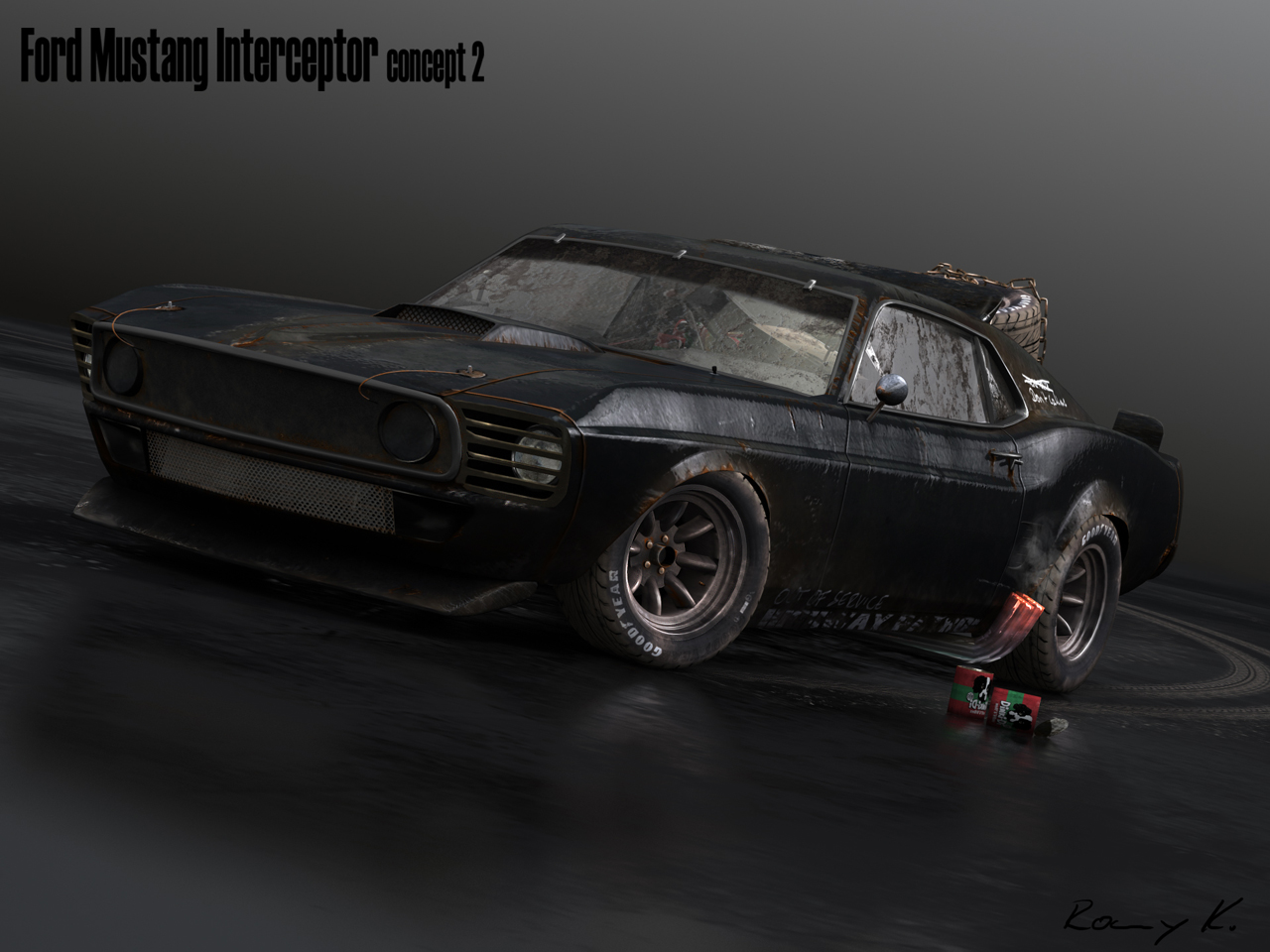 69 Mustang Interceptor Aged 2 By Rkgrafixx On Deviantart
