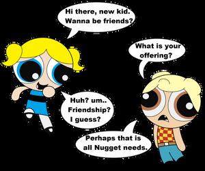 I only have friendship by PoptartKnuxx