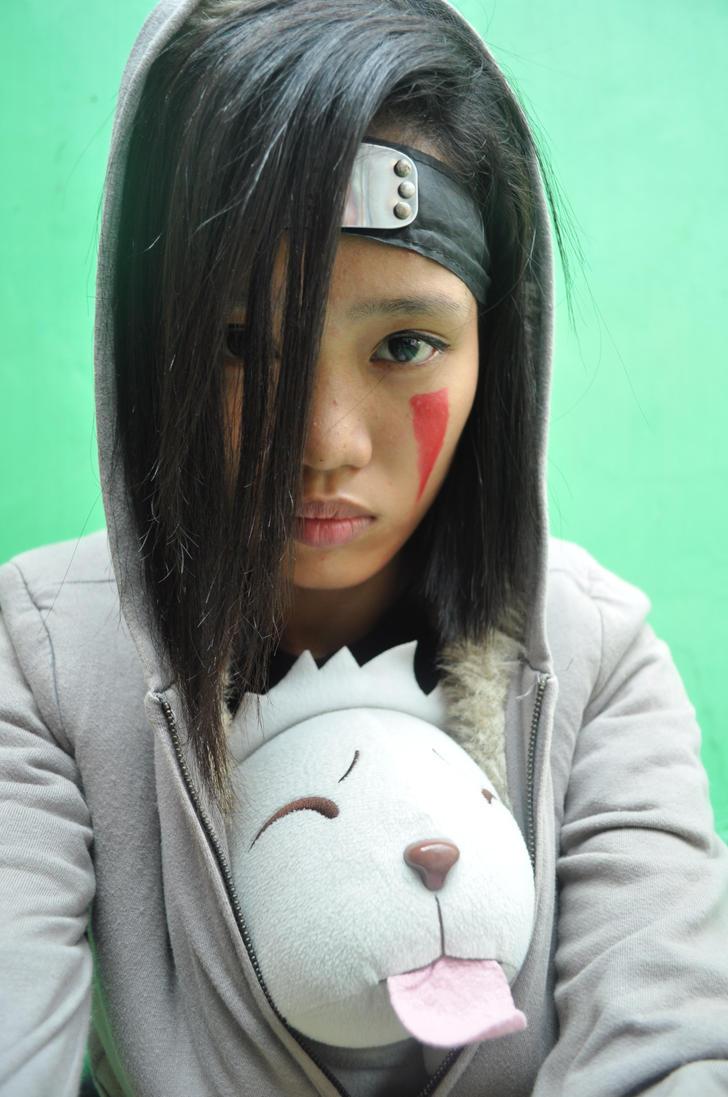 Naruto:: Kiba Inuzuka fem.v. by reginepetrola