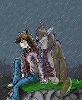 Rain by KasaraWolf
