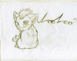 Loo Loo the Furby by KasaraWolf