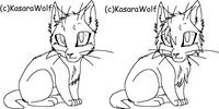 Warrior Cats-Kits Template by KasaraWolf