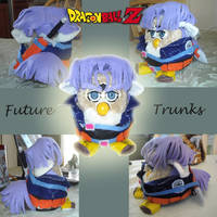 DBZ Future Trunks Furby by KasaraWolf