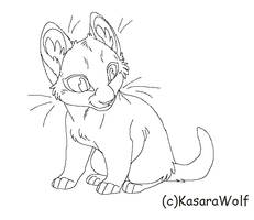 New Kit 2011 Lineart by KasaraWolf