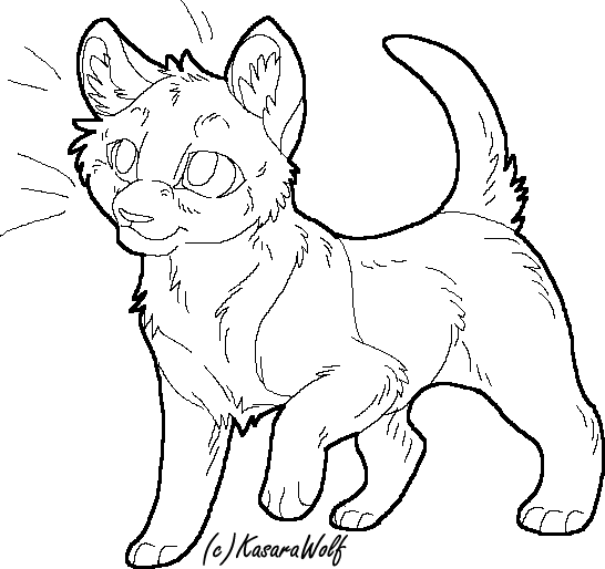 Cat drawing templates