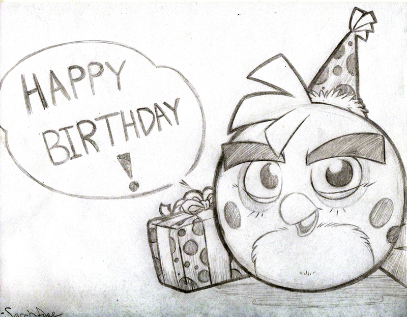 The gallery for --> Cute Happy Birthday Sketches