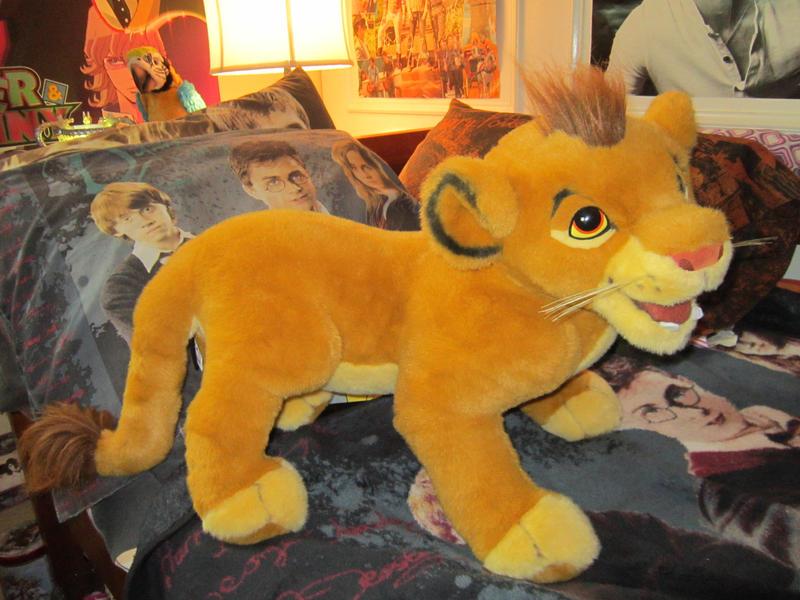 Lion King Douglas Cuddle Toys Simba Plush by KasaraWolf