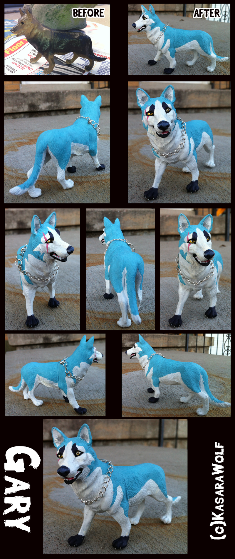=Gary Figure COMPLETE= by KasaraWolf