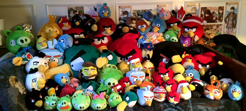 Angry Birds Plush Collection 2015 Update By Kasarawolf On