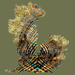 AGLA cover design - fractal cactus by bibble
