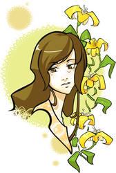 Flower Colorcomplete by DigitalYuki