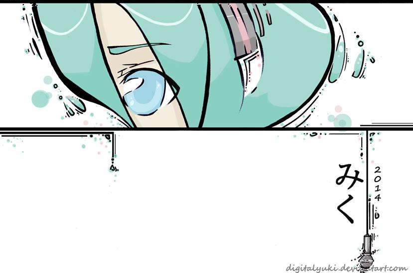 Hatsune Miku by DigitalYuki