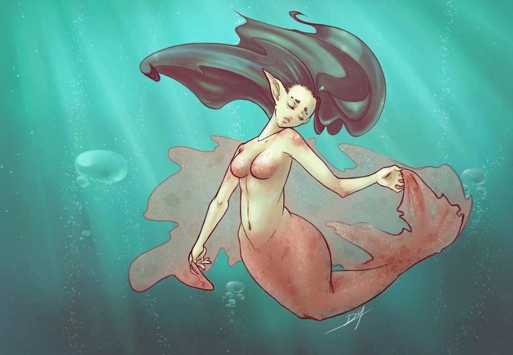 The Mermaid by DigitalYuki