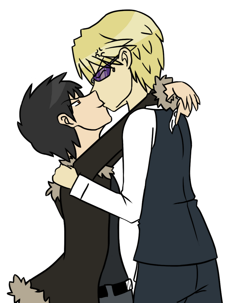 Shizaya Smooch Colored Version by TankySina