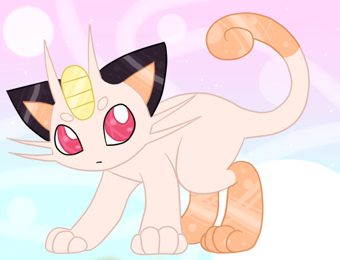 Sparkly Meowth by TankySina