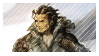 (Octopath Traveler) Olberic Stamp by TankySina