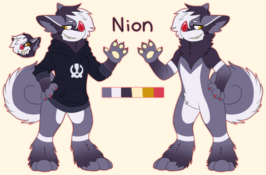 (Chimereon) Nion Reference Sheet by TankySina