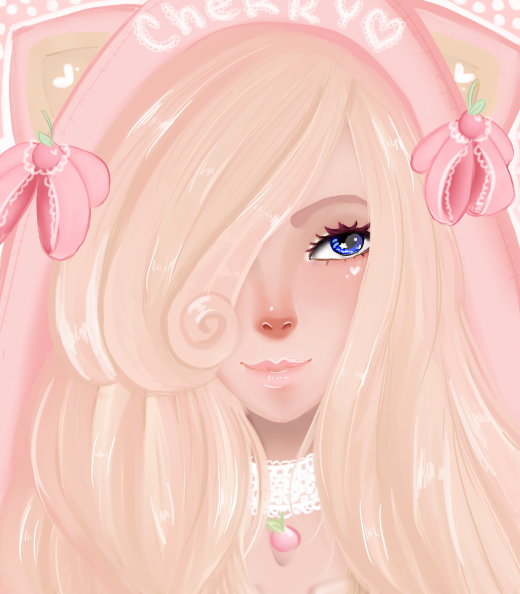 Cotton Candy Cherry by cherrydoveberry