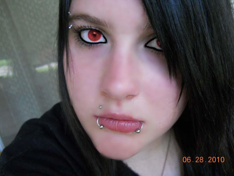 Red Eyes Fer Real By Xdoorwayxcreeperx On Deviantart