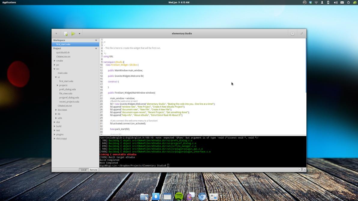 elementary OS IDE by DiGi59404