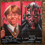 Ron Weasley and Darth Maul