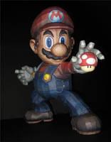1000 Views Mushroom Mario by TouchFuzzyGetDizzy