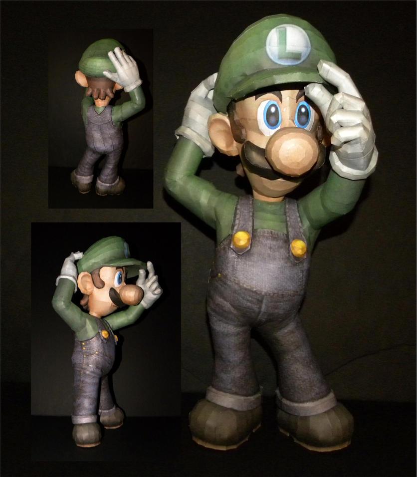 SSBB Luigi Angles by TouchFuzzyGetDizzy