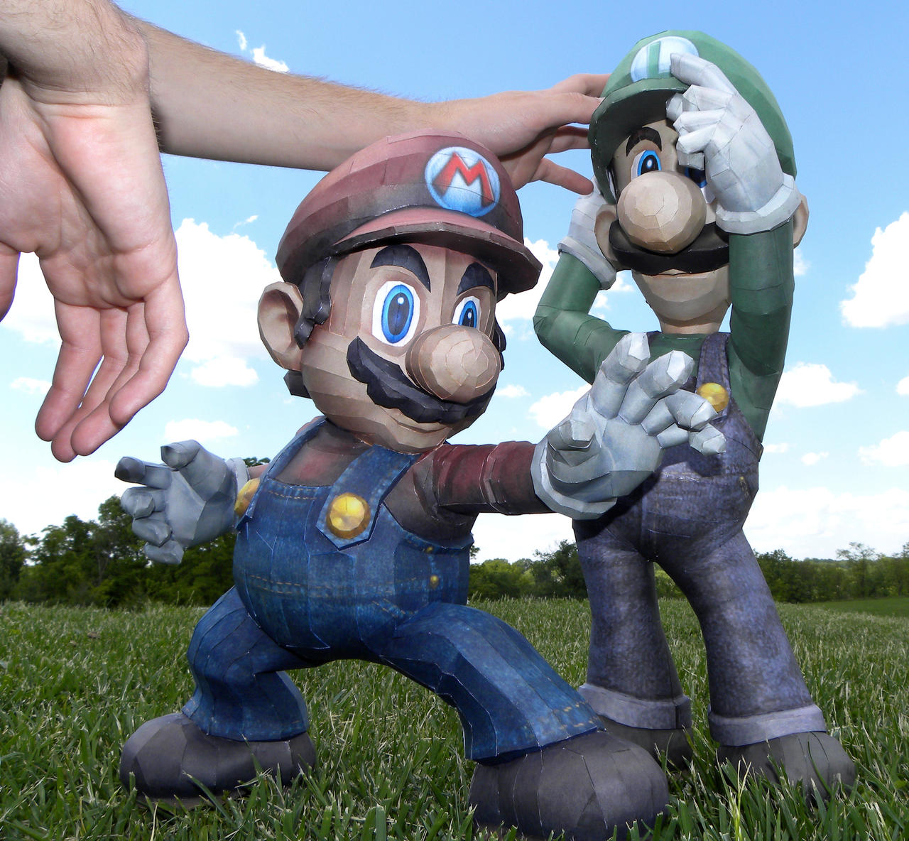 Mario and Luigi Test Shot 2 by TouchFuzzyGetDizzy