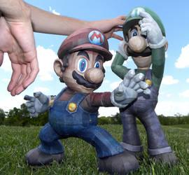 Mario and Luigi Test Shot 2