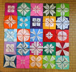 Wall-origami