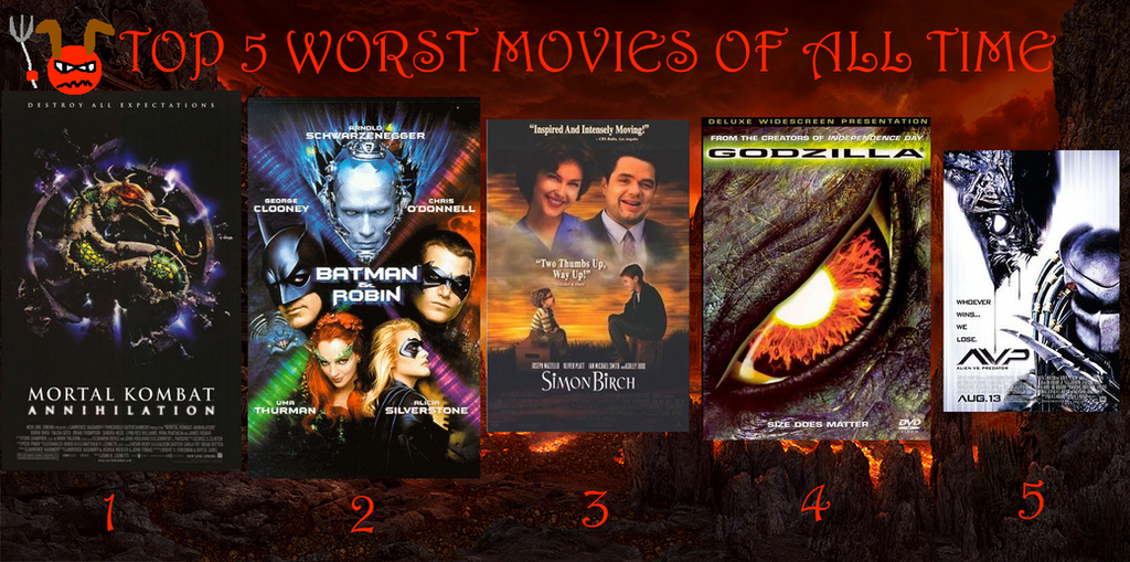 the best and worst movies of all the time From mortal kombat to mario bros, here are the best and worst video game movies of all time.