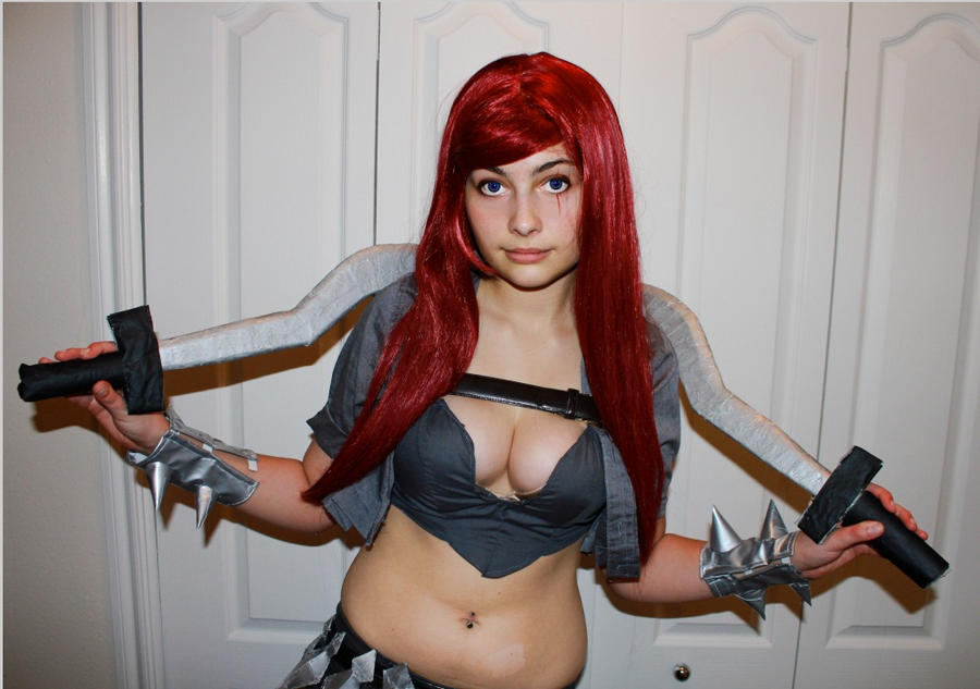 Katarina, the Sinister Blade by Undead-Romance