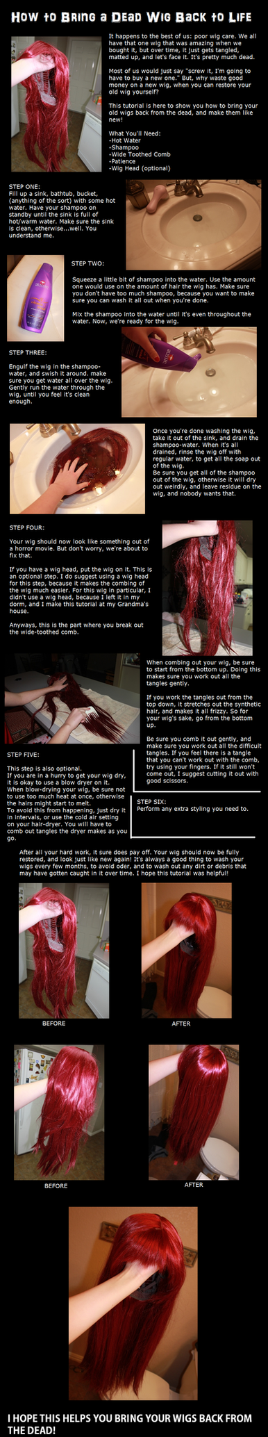 How To Resurrect A Wig by Undead-Romance