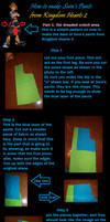 How to make Sora's Pants from KHII- Part 1