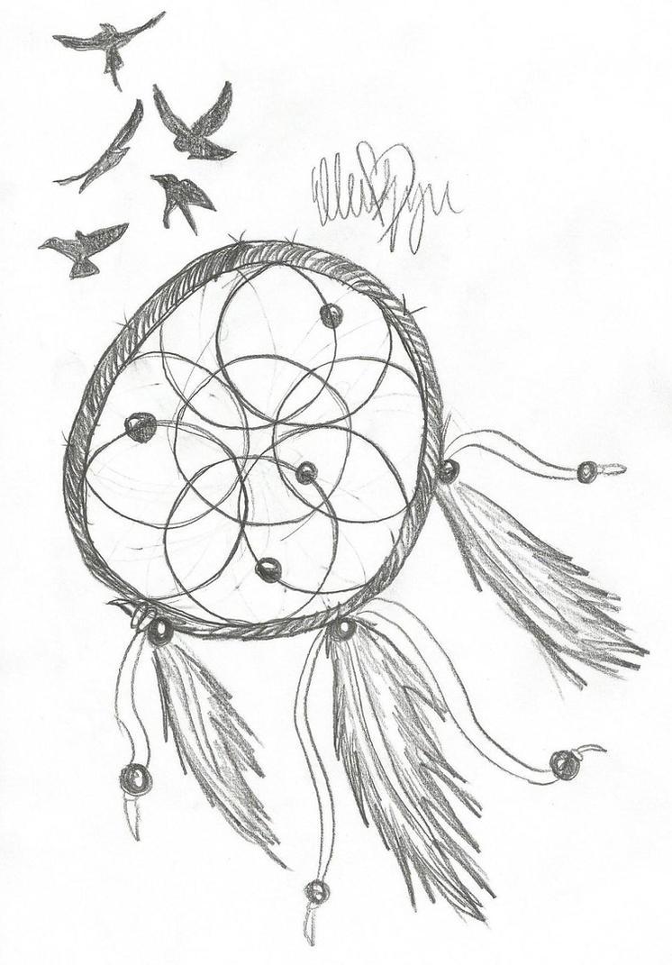 Dreamcatcher Sketch By Undead Romance On DeviantArt