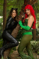 Catwoman and Poison Ivy by Undead-Romance