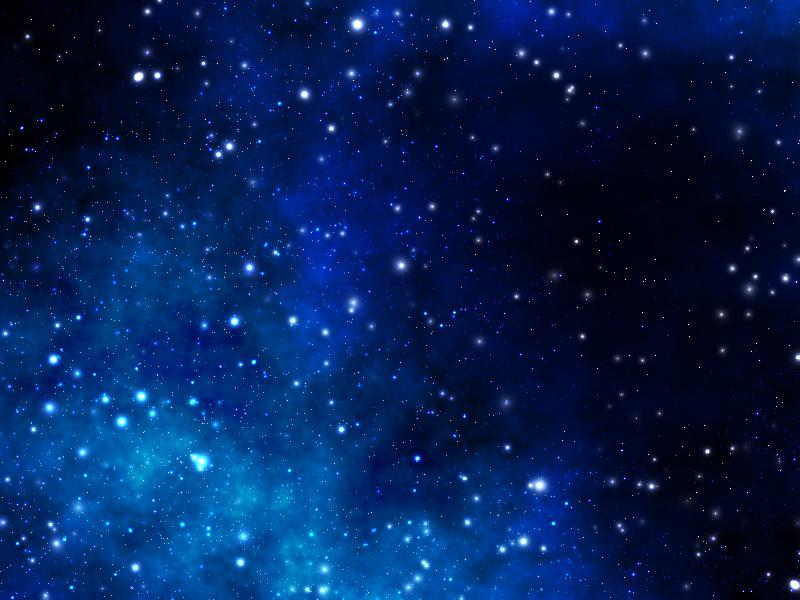 Blue Space Scape by heatstroke99