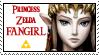 Princess Zelda Fan Stamp by 666mel666