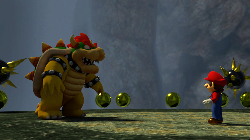 Super Mario 64 Hd Bowser Fight 1 By Holo Mario On Deviantart