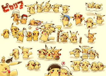Axis Powers: Hetalia Pikachu