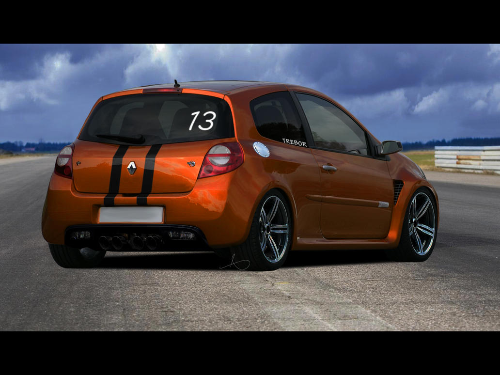 renault clio sport by 1r3bor on deviantart. Black Bedroom Furniture Sets. Home Design Ideas