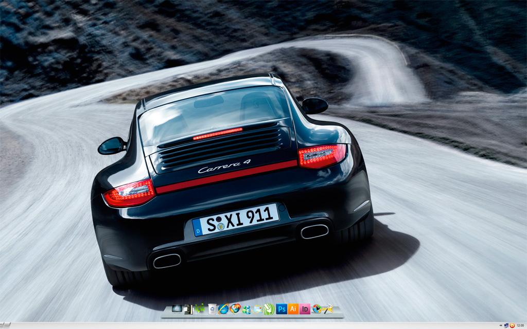 My New Desktop Screenshot