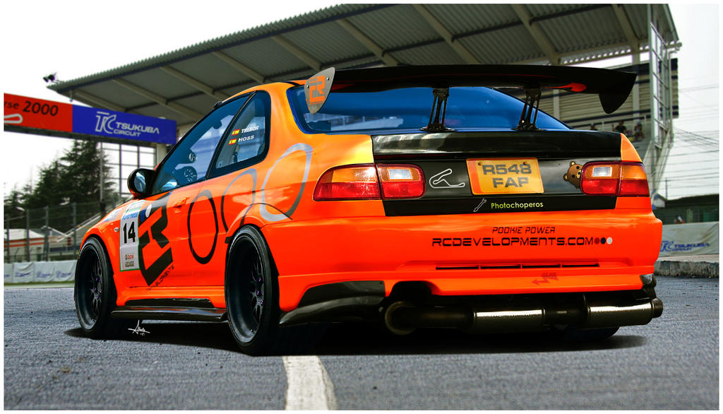 Honda Civic Time Attack By 1r3bor On Deviantart