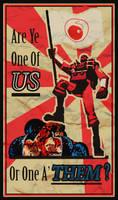 Demoman Propaganda Poster
