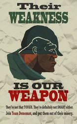 Anti-Soldier Propaganda Poster