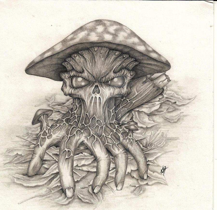 Evil Mushroom by VTomboy