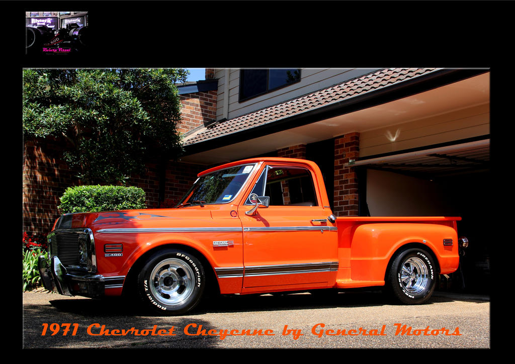 1971 Chevrolet Cheyenne by General Motors by RivieraVisual