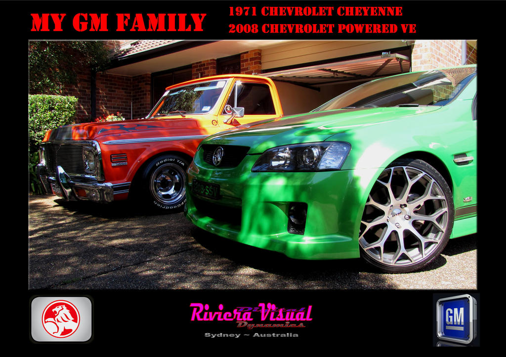 My Colourful GM Family,,,,My Utes,, by RivieraVisual