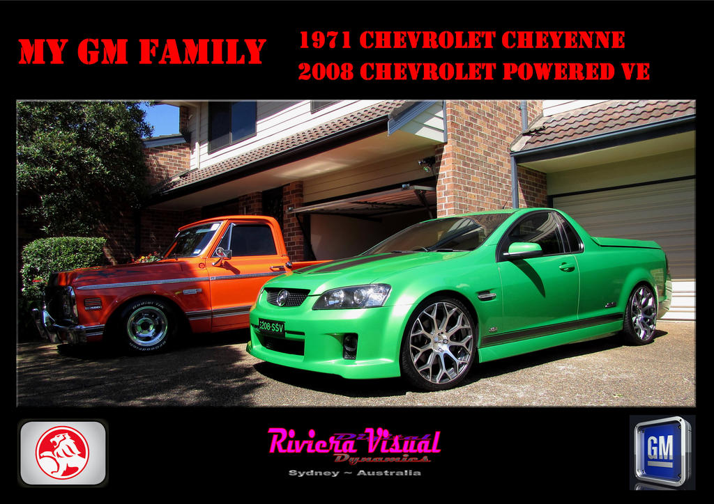 My Colourful GM Family,,,,My Utes,,, by RivieraVisual